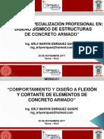 Diseño Sísmico en Concreto Armado - Sesión 2 (Tarde)