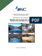 Ica - Indices de Calidad Del Agua
