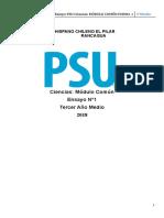 ENSAYO PSU N°1_Plan_Común_3°MEDIO