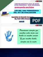 Kit de Evaluacion Secundaria Comunicacion