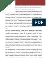 """Braudel y Su Relación Con Los Historiadores de La """"Renovación""""Argentina El Caso de Tulio Halperin Donghi (Década de 1950)"""