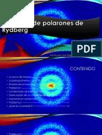 Polarones de Rydberg