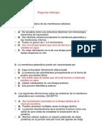 Preguntas Histología