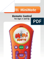 FOXTEL MiniMote Remote Control USER GUIDE