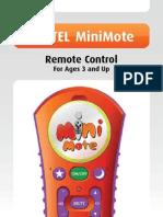 FOXTEL MiniMote Remote Control USER GUIDE