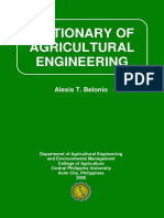 Dictionary of Agricultural Engineering 2006 Edition