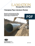 Fiberglass Pipe Literature Review