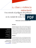 2007 - Género, Clase y Violencia Estructural. Una Mirada Al Polígono de Pobreza de Los Castillos en La Ciudad de León, Guanajuato