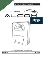 Manual de Instrucciones ALCOM 255