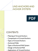 Ground Anchors and Anchor Systems
