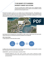 Project on Smart City Planning
