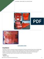 Road Barrier – Pabrik Rambu & Jual Aksesoris Rambu