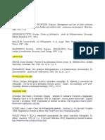 Exemple Bibliografie