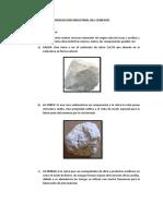 Produccion Industrial Del Cemento