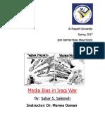 media bias in iraq