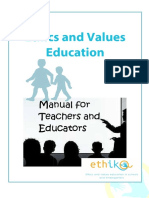 Professional Ethics in Values Educ.(1)