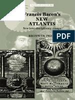 Bronwen Price-Francis Bacons the New Atlantis_ New Interdisciplinary Essays (2002)
