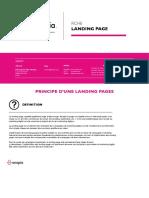 Onopia - Test AB et Landing Page