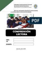 Separata Comprensión Secundaria 2015 Revisado