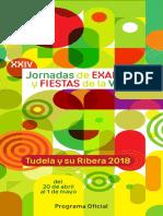 Programa Verduras 2018