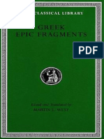 L497-(2003) Greek Epic Fragments - From the VII-V Centuries BC, The Theban & Trojan Cycles, Heracles & Theseus [West]