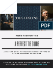 A Perfect Tie Guide