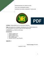 Termodinamica Informe Final