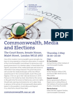 Commonwealth Media and Elections-2