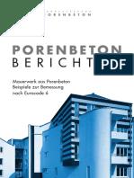 Porenbeton Bericht 14 Nach EC6 - 2014