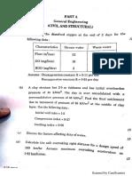 Ssc Je Civil Question Paper