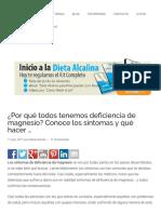 ¿Por Qué Todos Tenemos Deficiencia de Magnesio_ Conoce Los Síntomas y Qué Hacer...