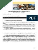 5 - Concours Externe - Finances Publiques