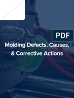 Molding Defects Causes Corrective Actions Glossary