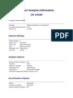 Phase2 Analysis Information