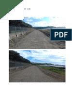 Perimeter road 1 station 1+500 - 1+800