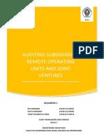Kelompok 1 - Auditing Subsidiaries (Paper)