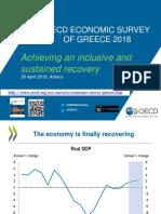 OECD economic survey of Greece - 2018