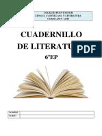 Cuadernillo Literatura 6EP 17-18