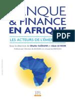 Banque Et Finance en Afrique - Les Acteurs de l'Émergence - La Revue Banque