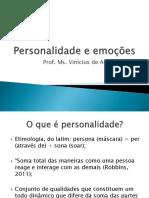 Comportamento Organizacional - Personalidade e Emoções - Robbins