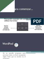Teoria WordPad