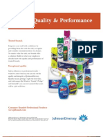 Chemicals and Janitorial