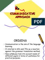 Communicative Approach Presentation