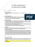 180106 CVS3 HVAC Duct Metal Work Specifications FINAL