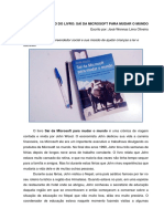 Resumo Do Livro Sai Da Microsoft Para Mudar o Mundo