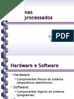 Sistemas Microprocessados