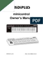 [MP]Manual of Minicontrol V0.3 20160818
