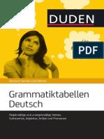 Grammatik Tabellen