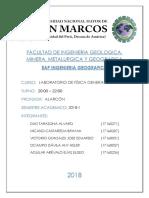 Informe 2 Laboratorio Fisica general unmsm