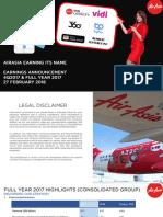 4q2017b Earnings Presentation Airasia